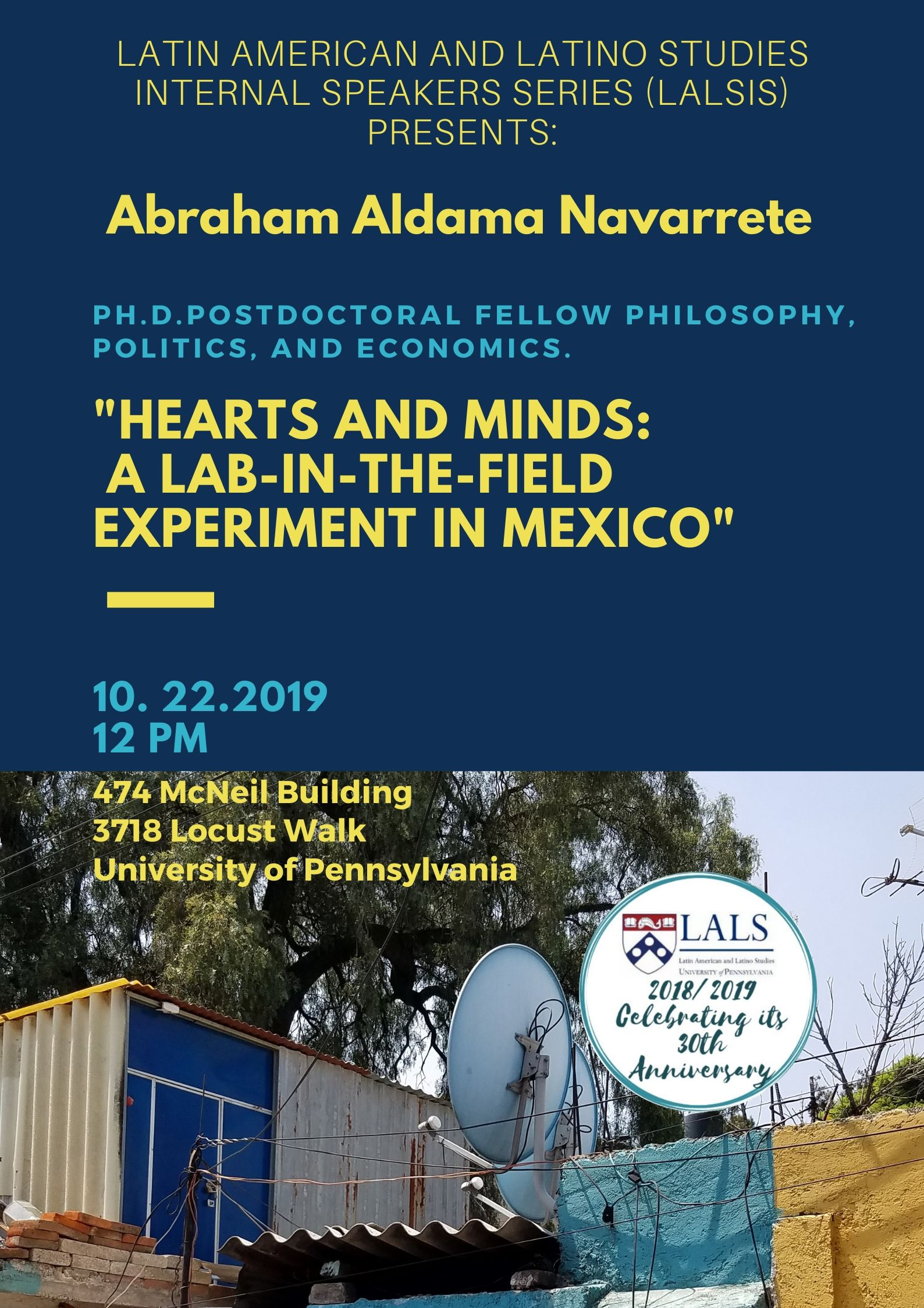 Poster LALSIS Abraham Aldama Navarrete
